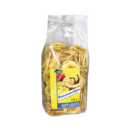 Bananenchips, frittiert, 250g
